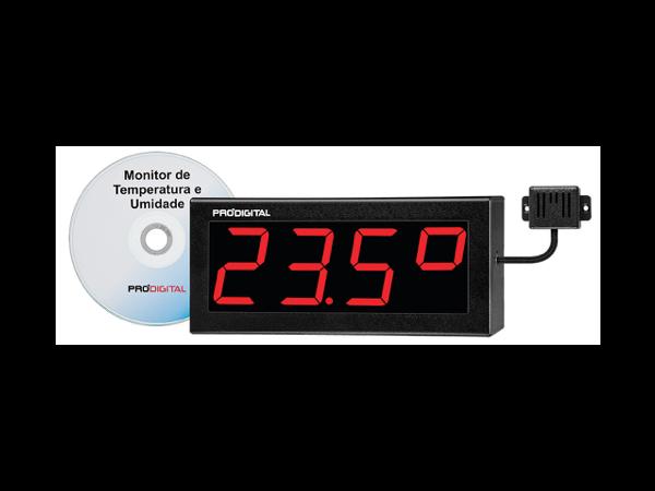 Monitor de Temperatura e Umidade relativa para Data Center