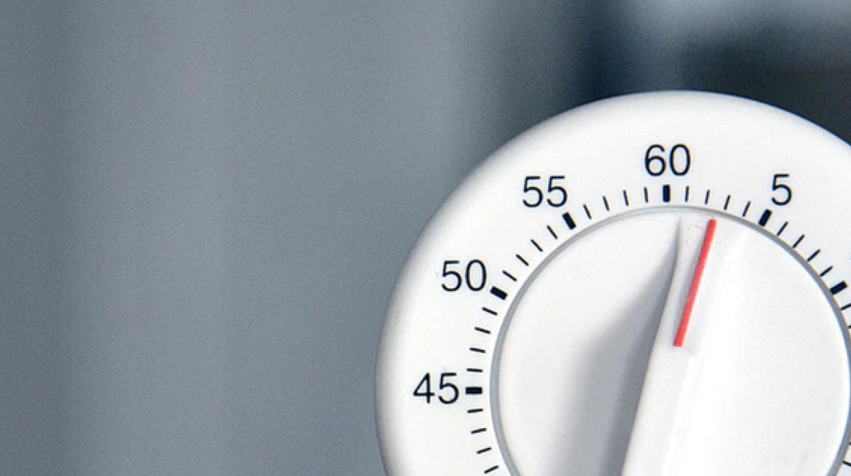 ¡Comprenda cómo funciona el cronómetro regresivo!